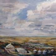 Abbey Farm Art Print