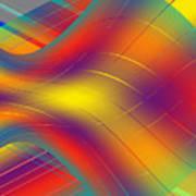 Assymetric Flow Art Print