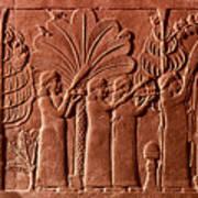 Assyrian Queen, 645 B.c Art Print