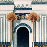 Assyrian Temple Art Print