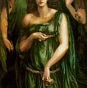 Astarte Syriaca Dante Gabriel Rossetti Art Print