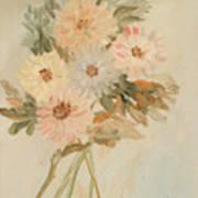 Aster Bouquet Art Print