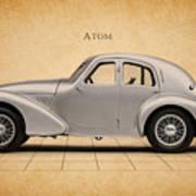 Aston Martin Atom Art Print