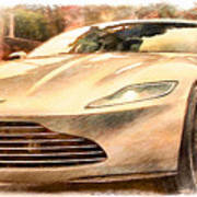 Aston Martin Db10 Art Print
