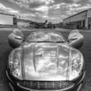 Aston Martin Dbs Art Print