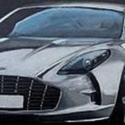 Aston Martin One-77 Art Print