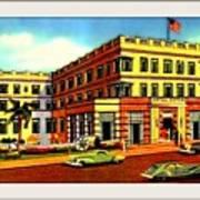Astor Hotel, Miami Beach Fl, 1938 Art Print