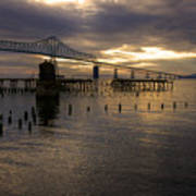 Astoria-megler Bridge 2 Art Print