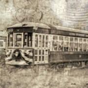 Astoria Trolley Art Print