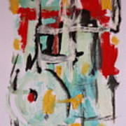Astract 7206 Art Print