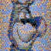 Astro Jetsons Mosaic Art Print
