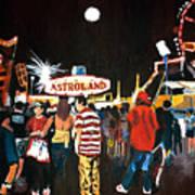 Astroland Art Print