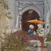 At Balboa Park Art Print