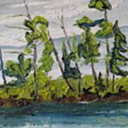 At Burbue Lake No 2 Art Print