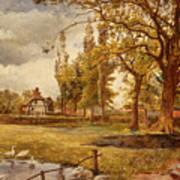 At Hale Lancanshire Art Print