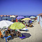 At Mondello Beach - Sicily Art Print