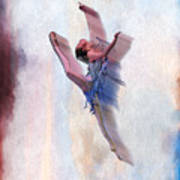 At The Ballet Art Print