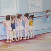 At The Barre Print by Julie Todd-Cundiff