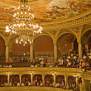 At The Budapest Opera Art Print by Madeline Ellis