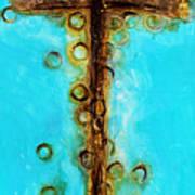At The Cross Art Print