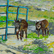 At The Farm Art Print