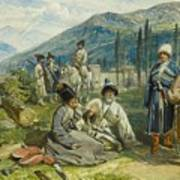 at the Fort of Waia Art Print