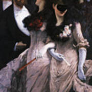 At The Masquerade Art Print