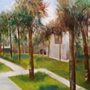 Atalaya Huntington Beach Sc Art Print