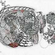 Atardeciendo - Evening Art Print