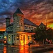 Atchison Post Office  Art Print