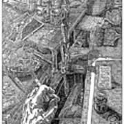 Atelier Erdberg 95-l-10 Art Print