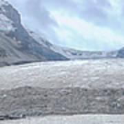Athabasca Glacier, Jasper National Park Art Print