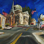 Athens Al Art Print by Carole Foret