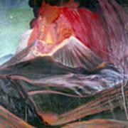 Atl: Volcano, 1943 Art Print