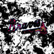 Atlanta Braves 1d Art Print