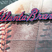 Atlanta Braves Art Print