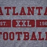 Atlanta Falcons Retro Shirt Art Print
