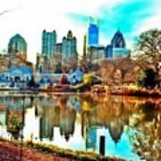 Atlanta The Great Art Print