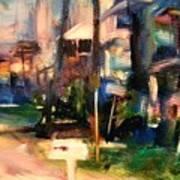 Atlantic Ave Along The Ocean Art Print