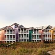 Atlantic Beach Nc   Beach Houses Art Print