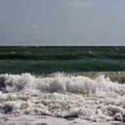 Atlantic - Beach - Waves Art Print