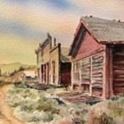 Atlantic City Ghost Town Wyoming Art Print