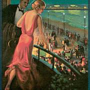 Atlantic City Pennsylvania Railroad Art Print