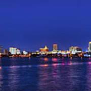 Atlantic City Skyline. Art Print