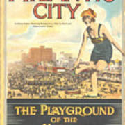 Atlantic City The Playground Of The Nation Art Print