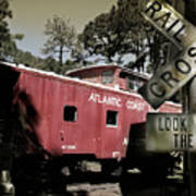 Atlantic Coast  Line Railroad Carriage Art Print