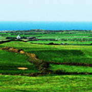 Atlantic View Doolin Ireland Art Print