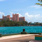 Atlantis Across The Harbor Art Print