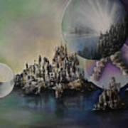 Atlantis Resurrected Art Print