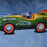 Atom Racer  Art Print